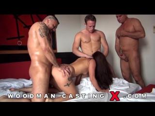 Анальный кастинг Jenny Glam (Woodman Casting, anal, dp)