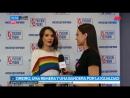 Natalia Oreiro viajó a Rusia donde prohíben la propaganda homosexual