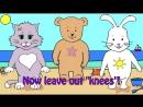 Head Shoulders Knees and Toes - nursery rhymes and kids songs — Яндекс.Видео
