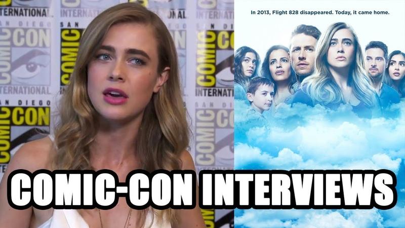 Manifest - Melissa Roxburgh, Josh Dallas, Jeff Rake - Comic-Con Interviews SDCC 2018
