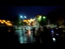Tirana Albania's capital at night.