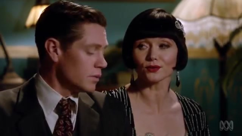 Phryne and Jack sing Lets Misbehave _ Miss Fishers Murder Mysteries Series 2