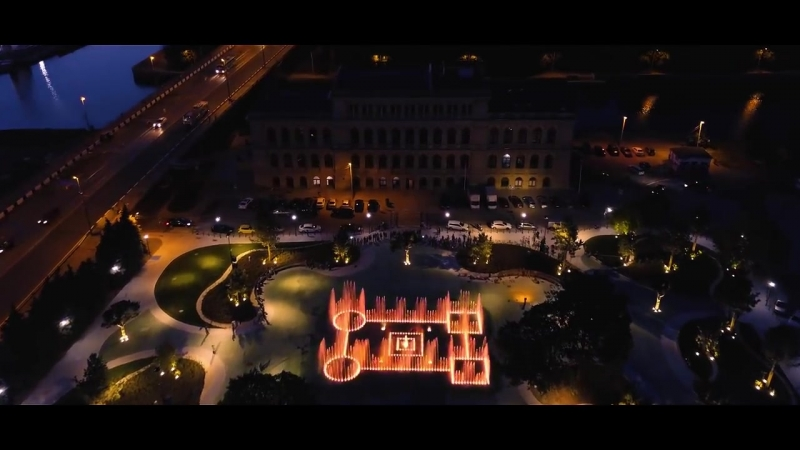 Достопримечательности Калининграда. Биржевой сквер и музыкальный (поющий) фонтан