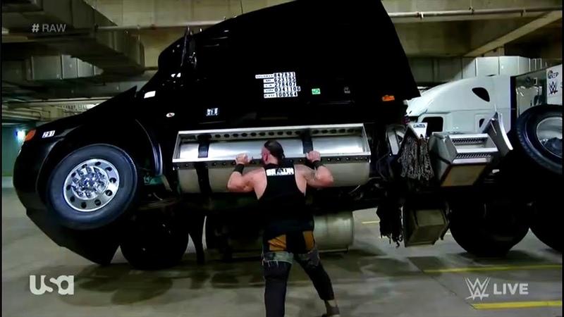 Braun Strowman Destroyed every one on backstage Jan.15,2018 WWE RAW Part 2