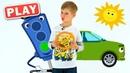 КУКУТИКИ PLAY - Светофоры - Песенка про Машинки - Играем и поем с Тимофеем