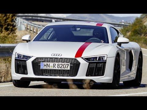 2018 Audi R8 V10 RWS - 0-200 k/h Acceleration, Puristic Driving Dynamics
