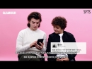 [RUS SUB] Stranger Things' Joe Gaten Give Advice to Strangers on the Internet ¦ Glamour