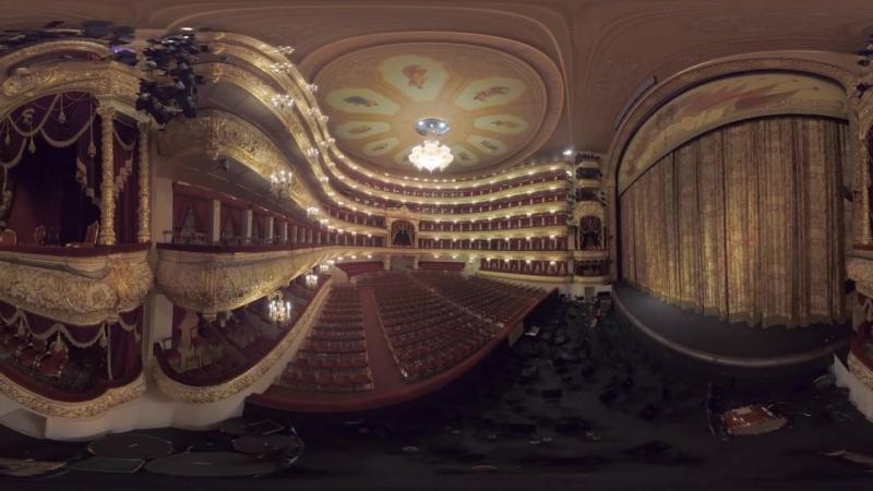 Видео 360_ панорамная прогулка по Большому театру