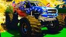 Мультики про Машинки для детей Пожарная машина и Крутые Монстер Траки Цветные Машинки для малышей