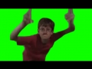 [FREE SOURCE] Crazy Frog Bros GREEN Screen guy tshirt Red Dance