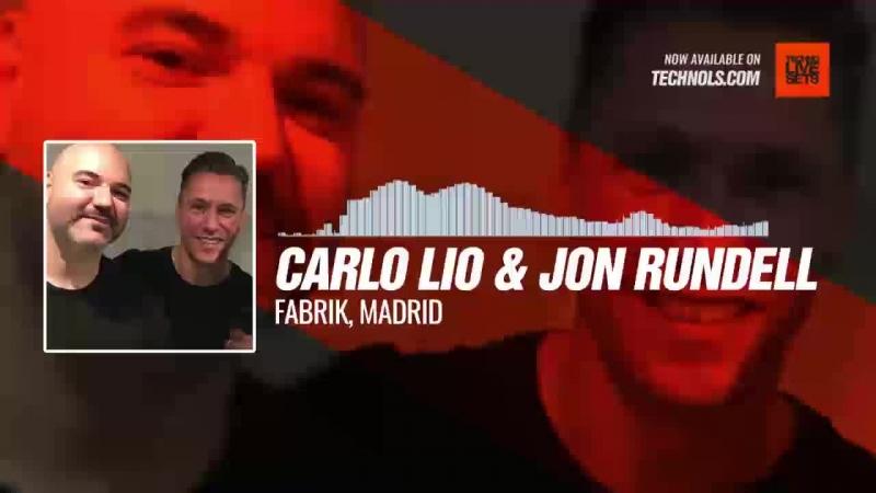 Techno music with @carlolio @Jon_Rundell - Fabrik, Madrid Periscope