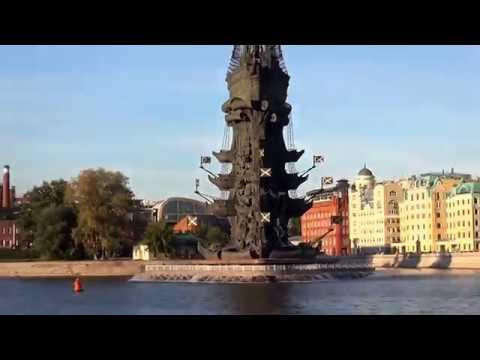 речная прогулка по центру Москвы на теплоходе