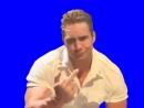 [Gachimuchi] Billy shows fuck on a blue screen (Билли показывает фак на синем экране)