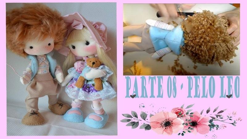 Parte 08/09 - Poner pelo a un muñeco con lana