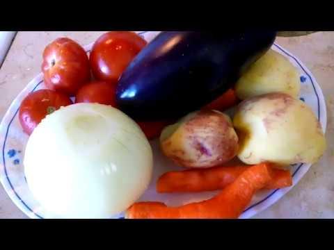 Запеканка картофельная с баклажанами Ох бабье лето Непременно готовить