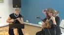 Струнный дуэт Багатель в БСЦ Тэффи 14 октября 2018 г