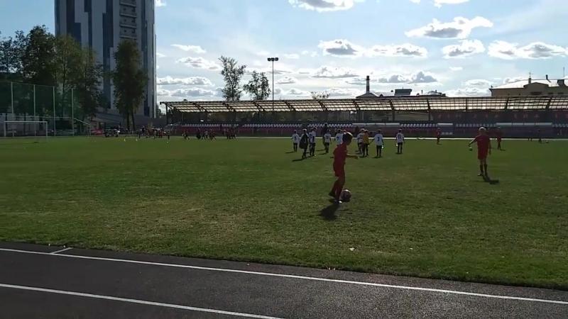 СМК Торпедо Мытищи. Тренировки по футболу