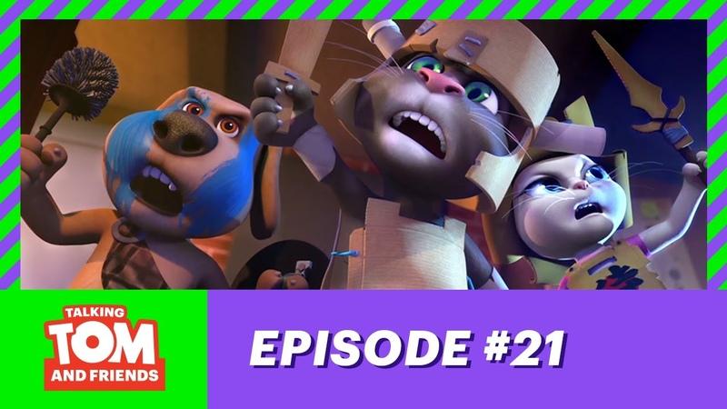 Talking Tom and Friends - Blanket Fort (Season 1 Episode 21)