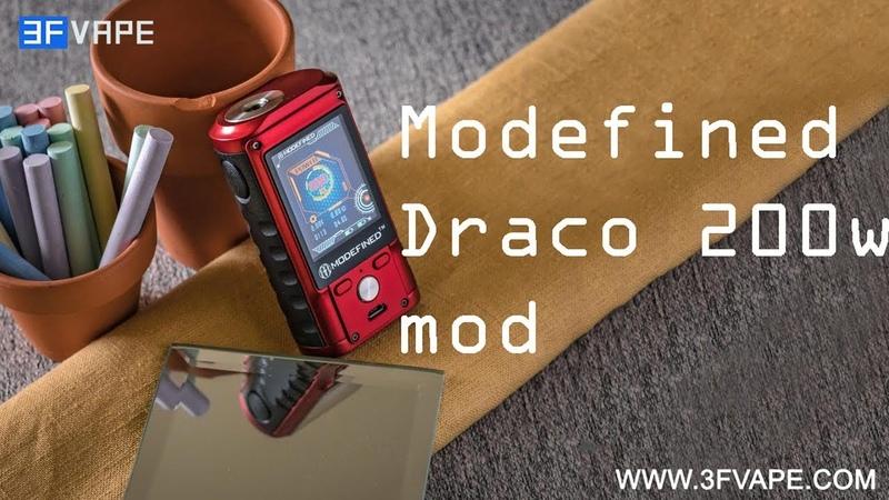 Modefined Draco 200W mod