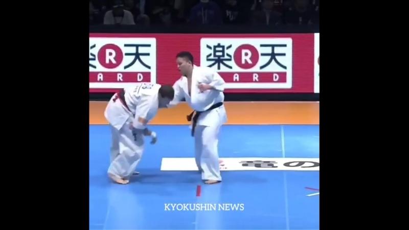 Нокауты в Кёкусинкай карате. Подготовка бойца. vk.com/oyama_mas