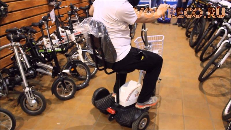 Электрический трицикл Easy Обзор Тест Драйв 2016 » Freewka.com - Смотреть онлайн в хорощем качестве