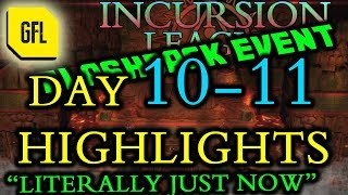 Path of Exile 3.3 Incursion Flashback League DAY 10-11 Highlights Literally just now!