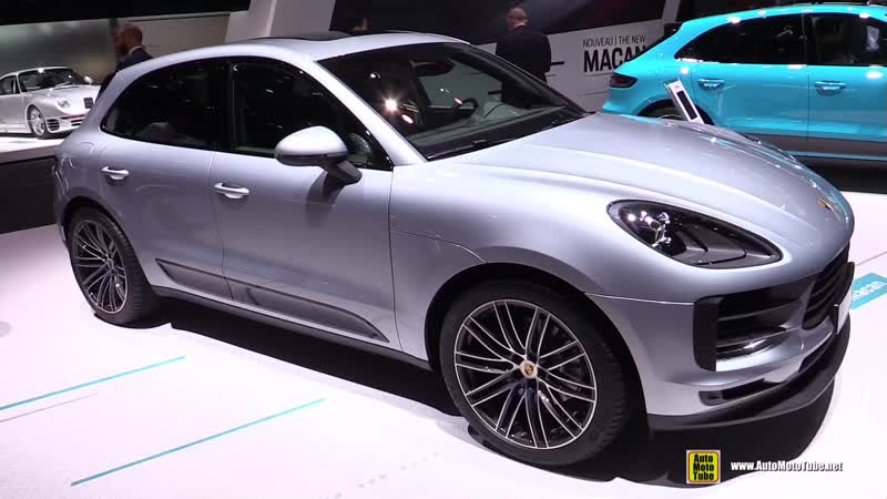 2019 Porsche Macan - Exterior and Interior Walkaround - Debut at 2018 Paris Motor Show