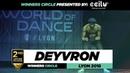 Deyvron I 2nd Place Upper Division I Winners Circle I World of Dance Lyon 2018 I WODFR18  