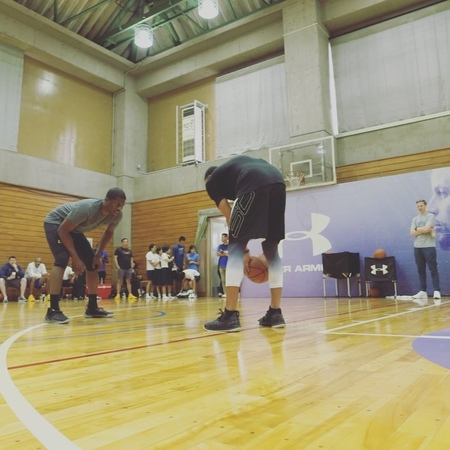 """Wardell Curry on Instagram: """"Hey @jeronsmith....""""ain't nothing over there!"""" sc30asiatour tokyo"""""""
