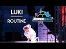 Luki Routine SuperBall 2018