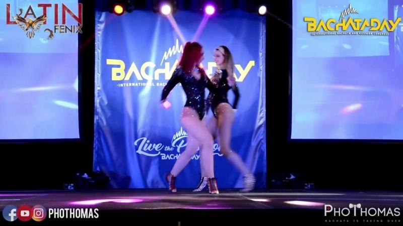 Latin Fenix by Magda Liuzza ✦ Show ► Bachata Day 2018