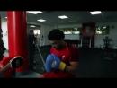 Alex's training at Melwood