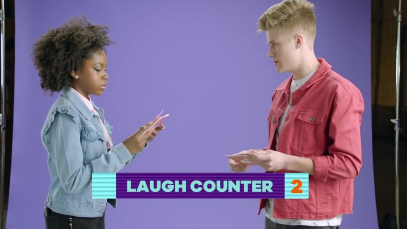 Flattery Face Off Challenge 🤣 w_ Kira Kosarin, Jack Griffo, Riele Downs More!