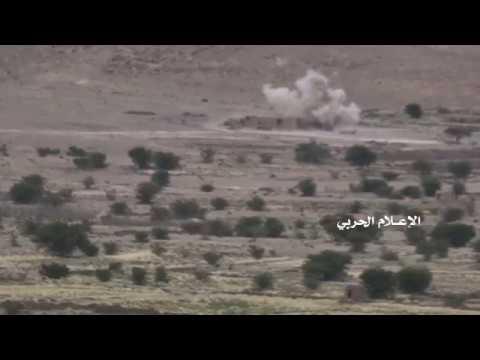 نهم - استهدافات مدفعية على مواقع المنافقين