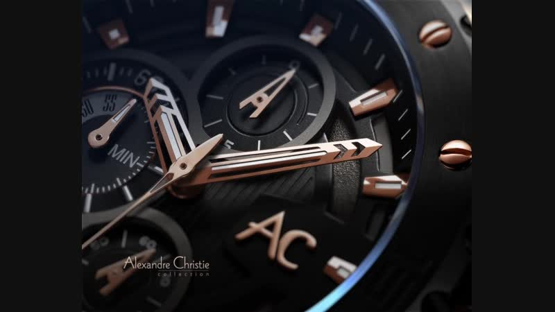 Искусство часовых мастеров компании Alexandre Christie