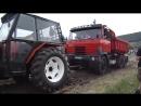 Tatra 815 Татра с грузом как балласт. Испытания тракторов 2016
