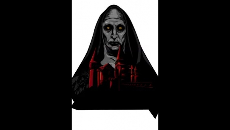 Process.. - thenun TheNunMovie talenthouse illustration poster movie jameswan horror process darkness theconjuring