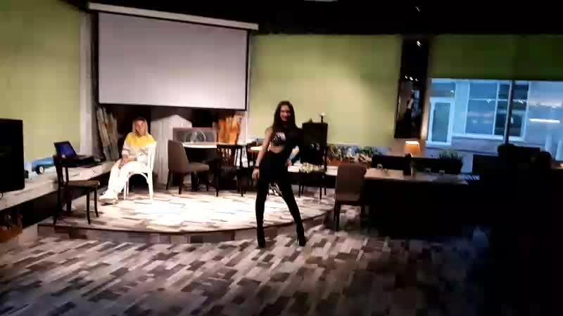 Стрип данс. Янина Зайченко. Школа танцев