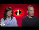 Incredibles 2 Bob Odenkirk and Catherine Keener talk the sequel