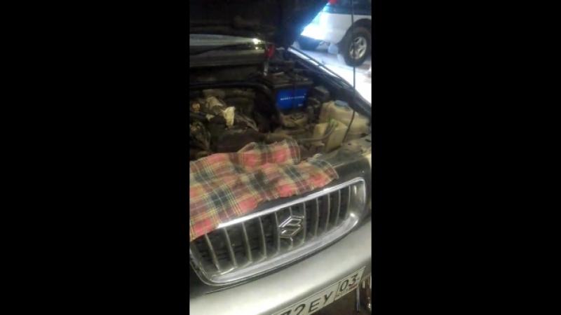 Делаем ремонт Suzuki Escudo: не смогли завести авто на другом СТО