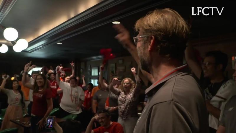 Юрген Клопп сделал сюрприз Джейми Вебстеру в Мичигане! 😃