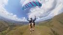 First day paragliding with Insta360 One Primeiro dia usando a Insta360 One