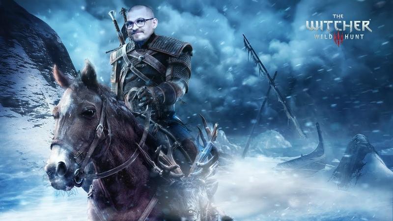 [rus] Дядя Митя в The Witcher 3: Сурьёзный возьмак. NG/Hard mode. 5 Часть.