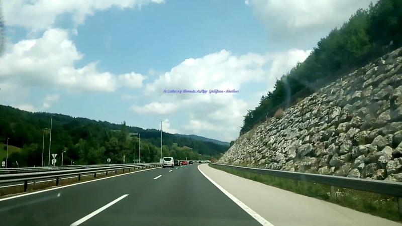 A1 motorway Slovenia Путешествие по Европе Автобаны в Европе группа avtooko сайт Предупре смотреть онлайн без регистрации