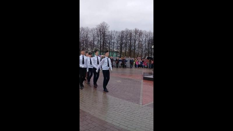 Выступление Зарничников МБОУ СШ№6