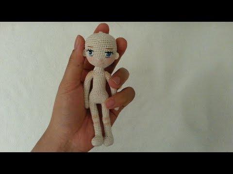 Little doll crochet Part 1 Legs and Body