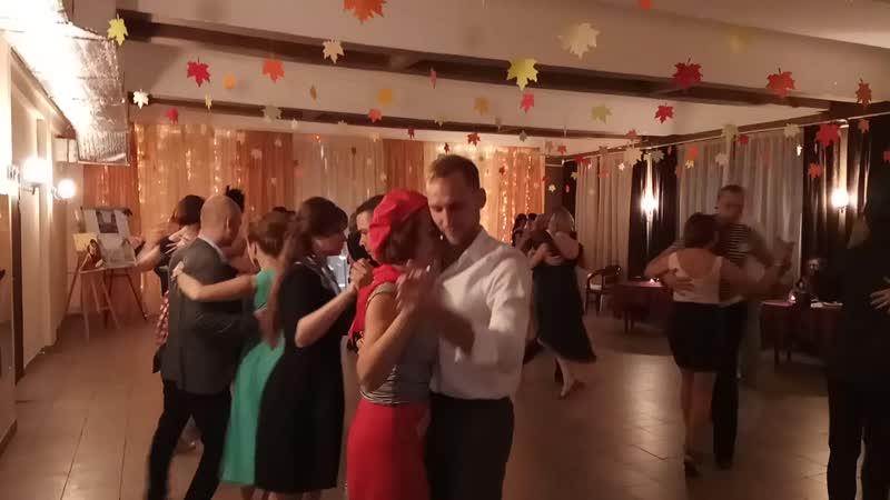 Танго-перфоманс Случайная встреча