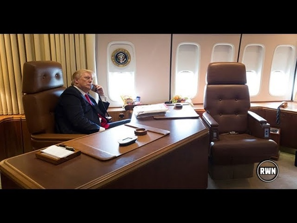 Sudden Surprise Guest On Air Force One Ignites Whirlwind Of Rumors!