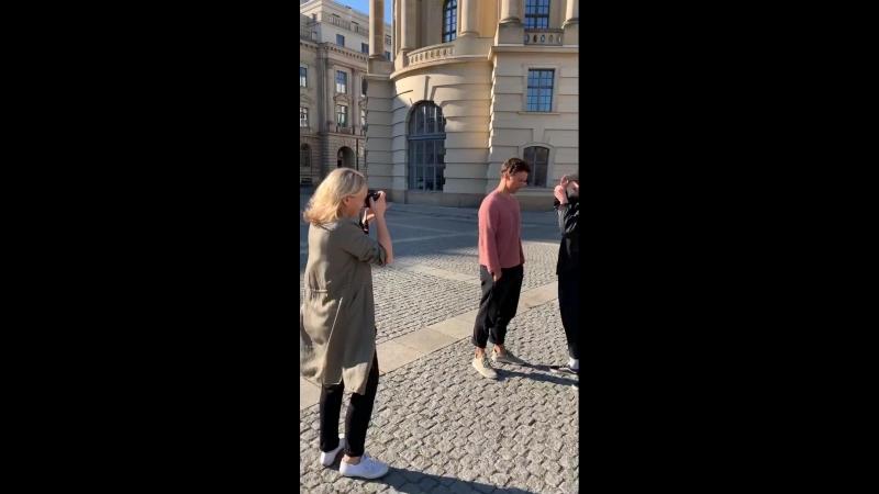 Интервью в Берлине