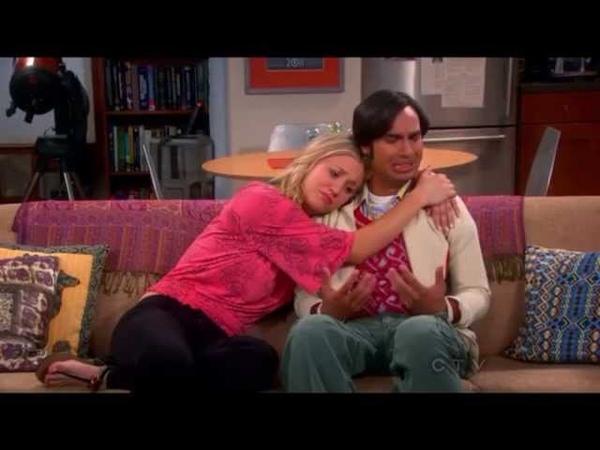 Raj can finally talk to girls. TBBT S6x24 The Bon Voyage Reaction